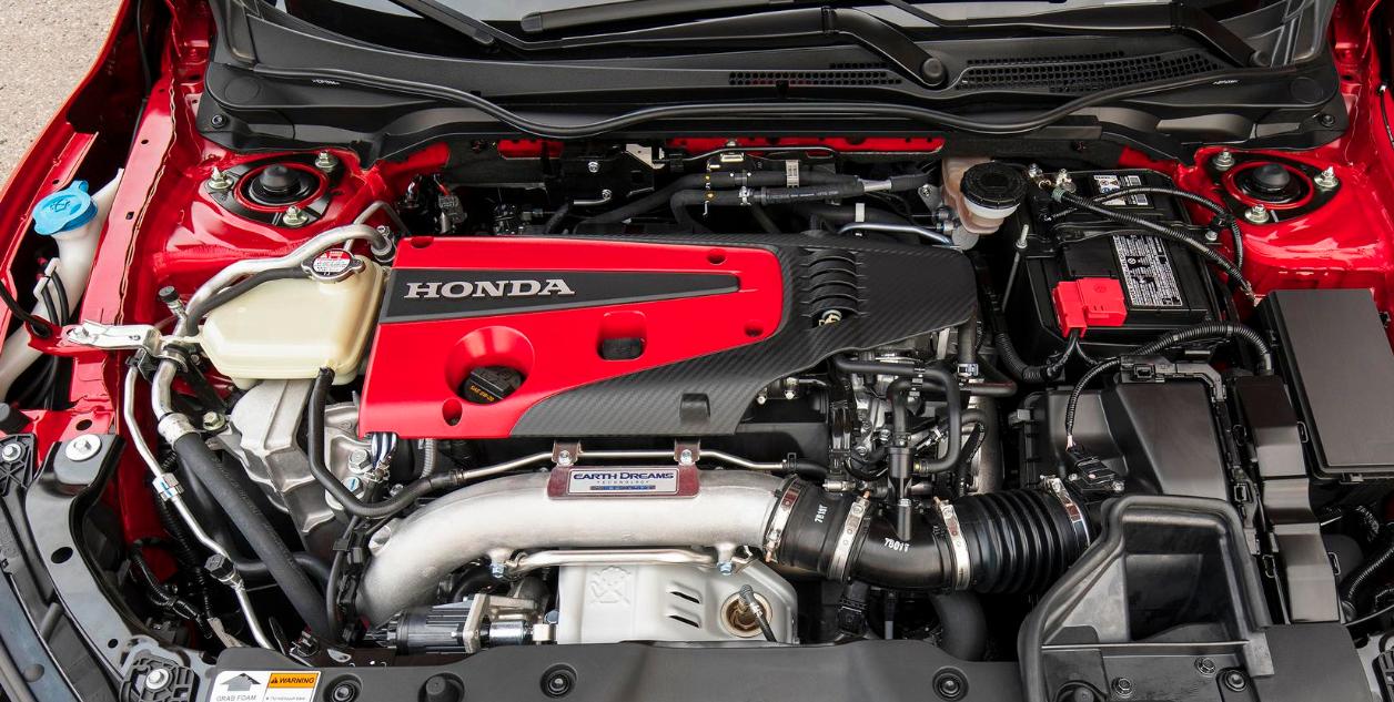 2022 Honda Civic Type R Engine
