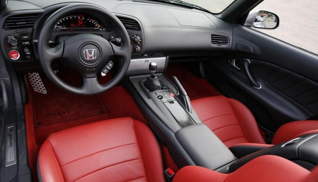 2022 Honda S2000 Interior