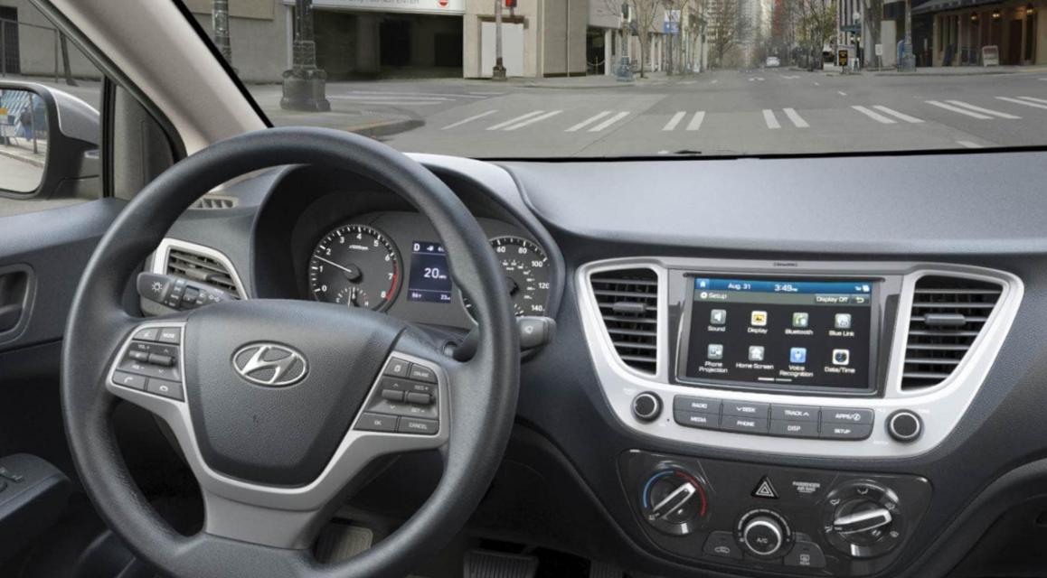 2020 Hyundai Accent Interior