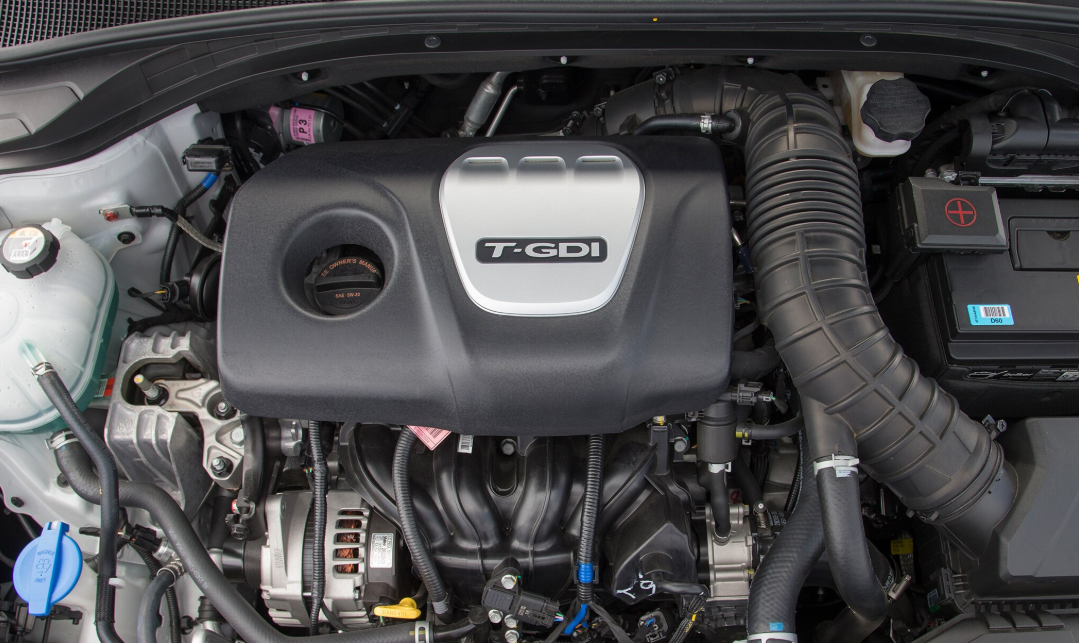 2020 Hyundai Elantra Sport Engine