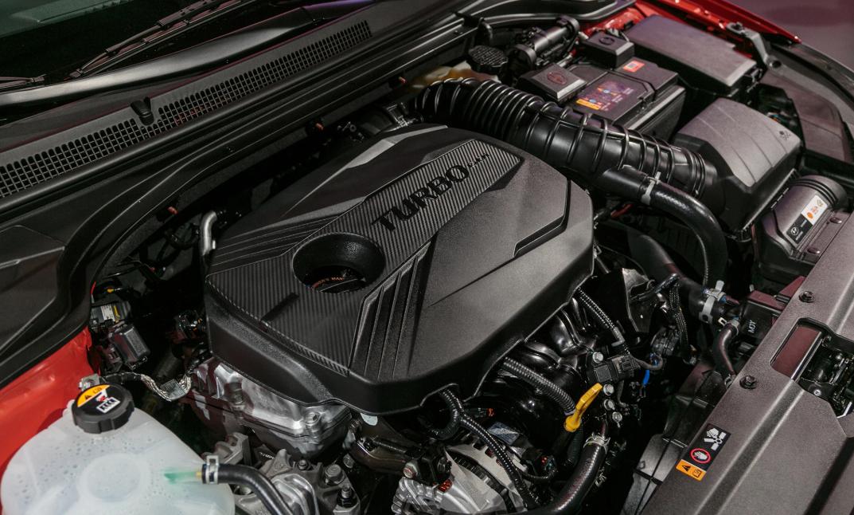2020 Hyundai Veloster N Engine