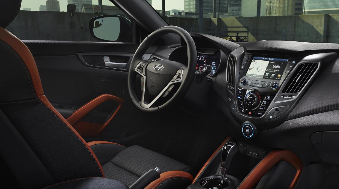 2020 Hyundai Veloster Turbo Interior
