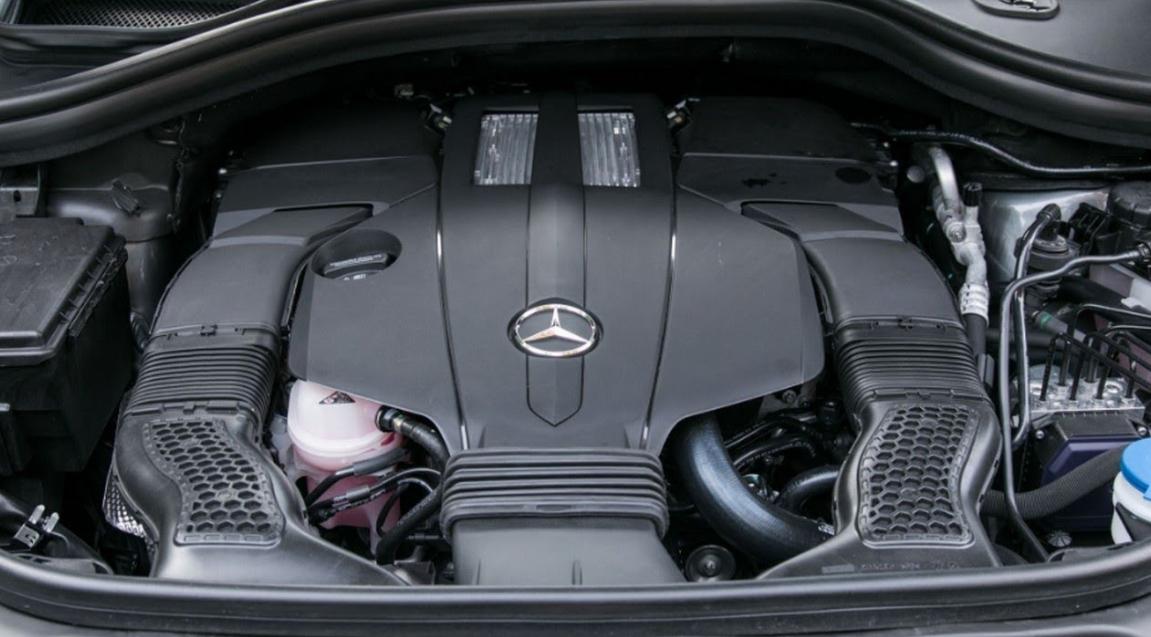 2020 Mercedes Benz GLS Engine