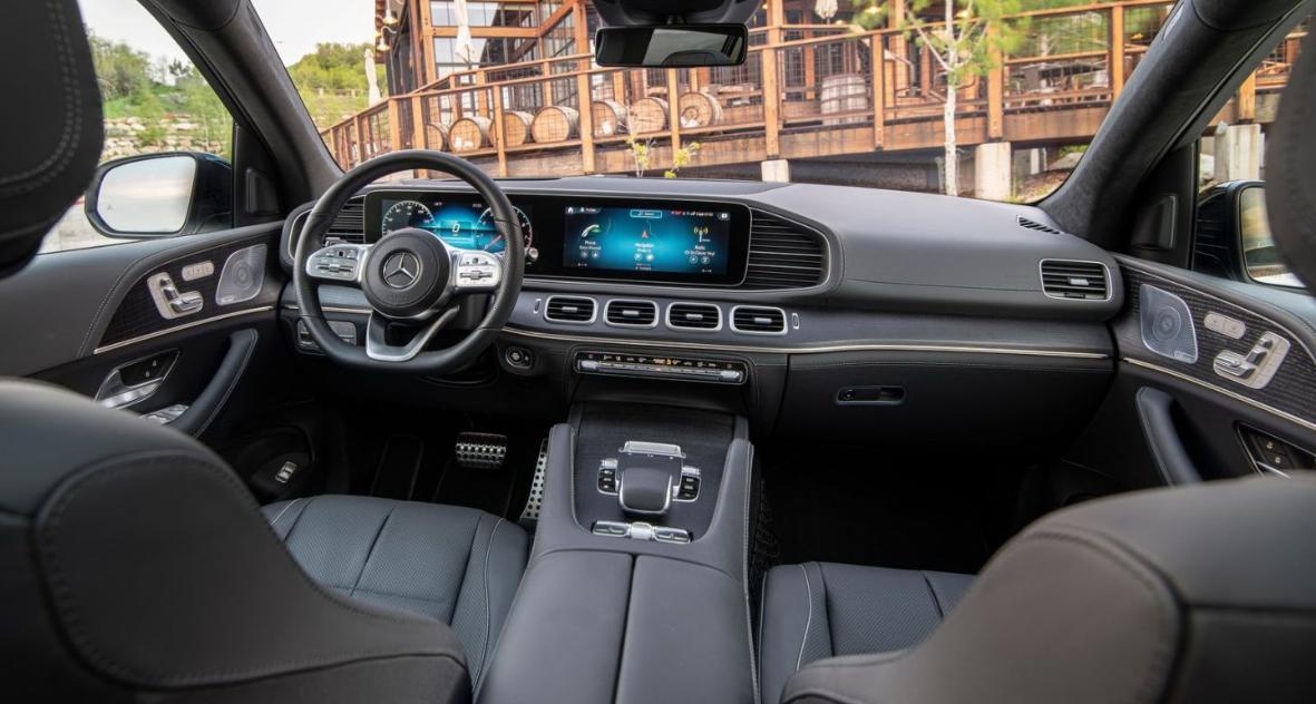 2020 Mercedes Benz GLS Interior