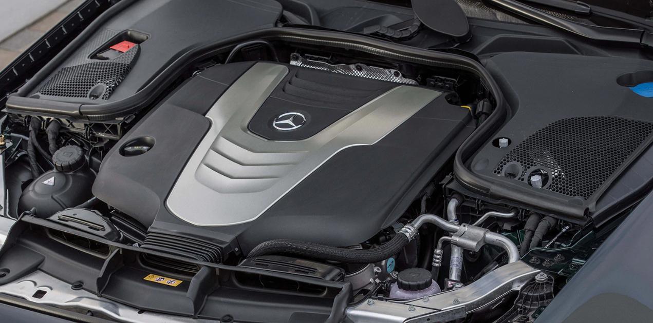 2020 Mercedes E450 Engine