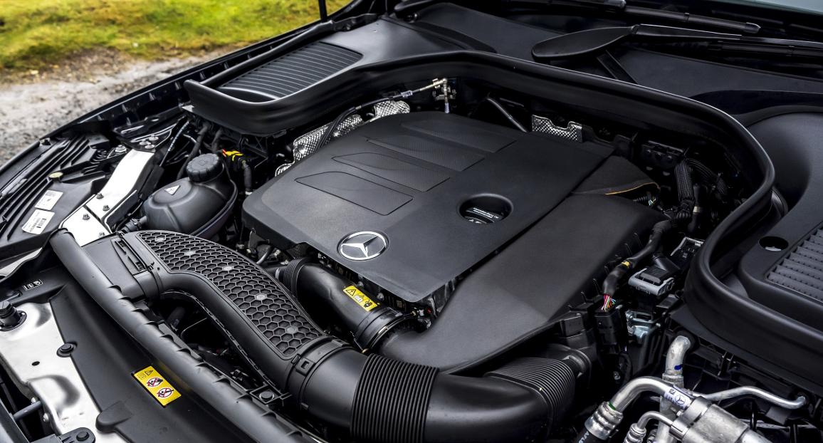 2020 Mercedes GLC Engine