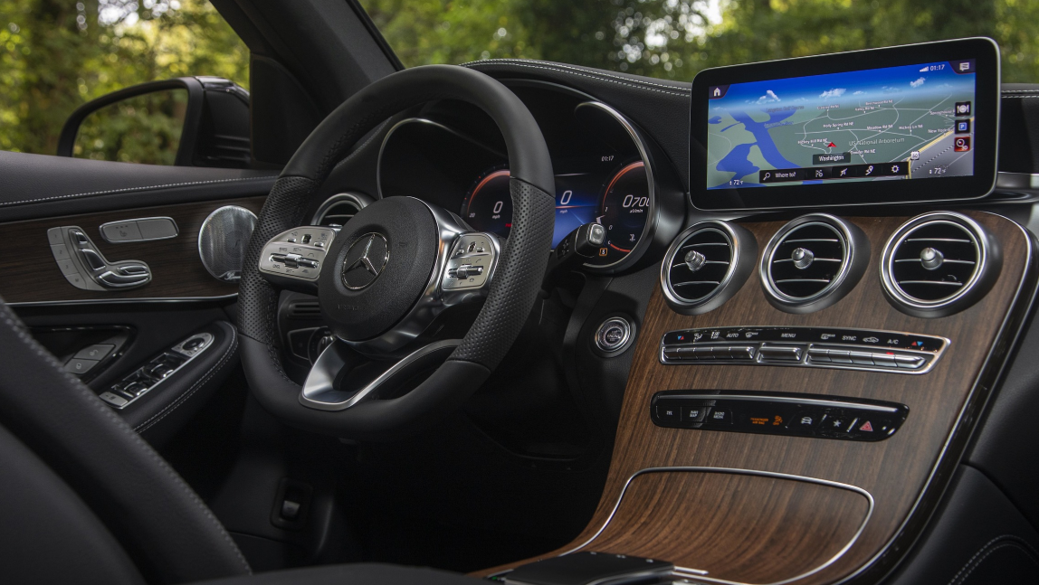 2020 Mercedes GLC Interior