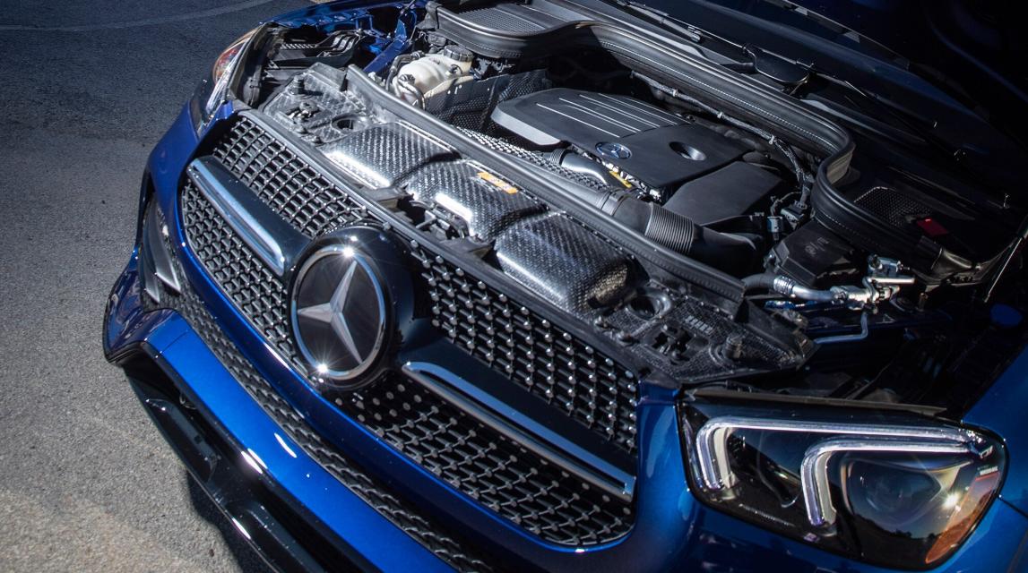 2020 Mercedes GLE Engine