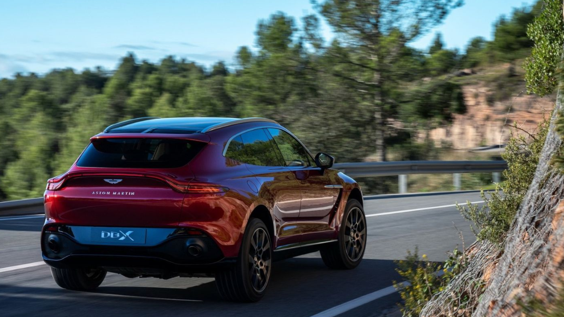 2021 Aston Martin DBX Engine