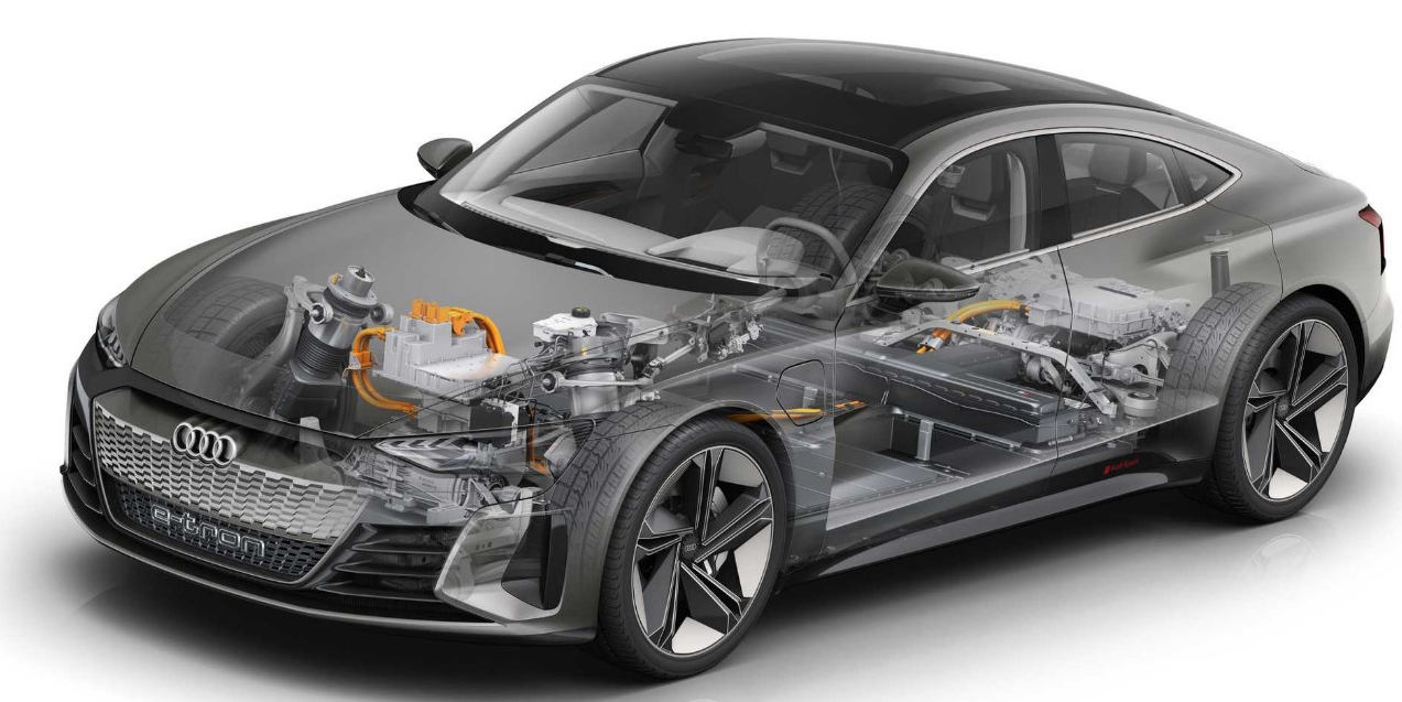 2021 Audi E-Tron GT Engine