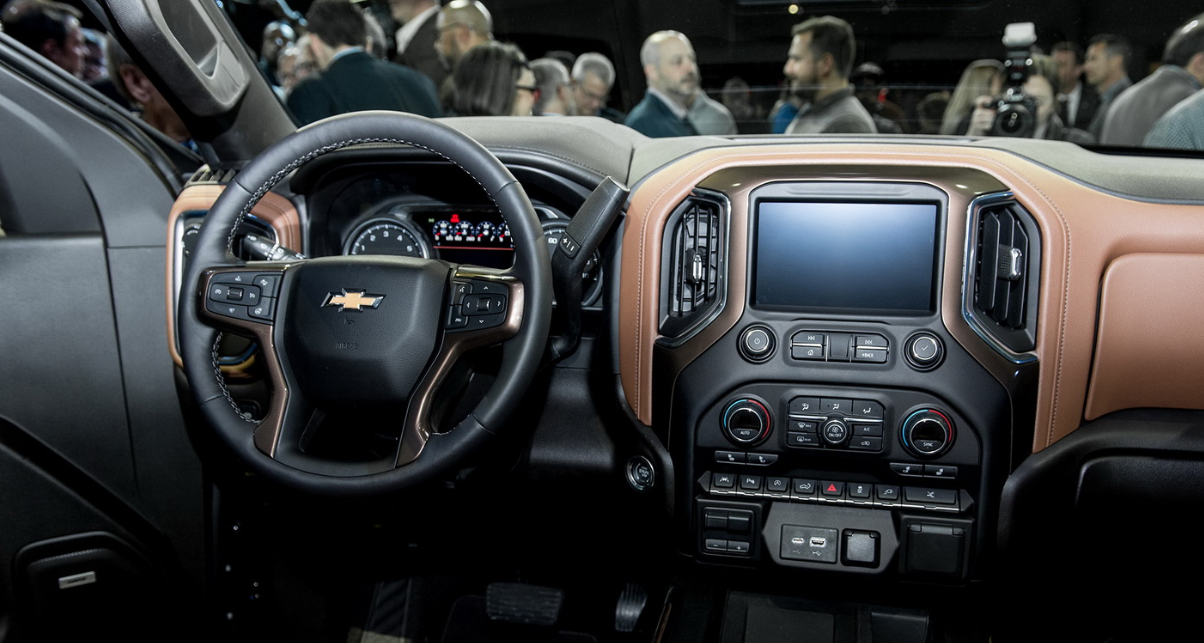2021 Chevrolet 1500 Interior