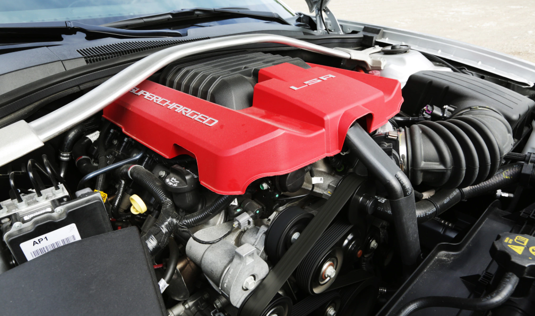 2021 Chevrolet Camaro ZL1 Engine