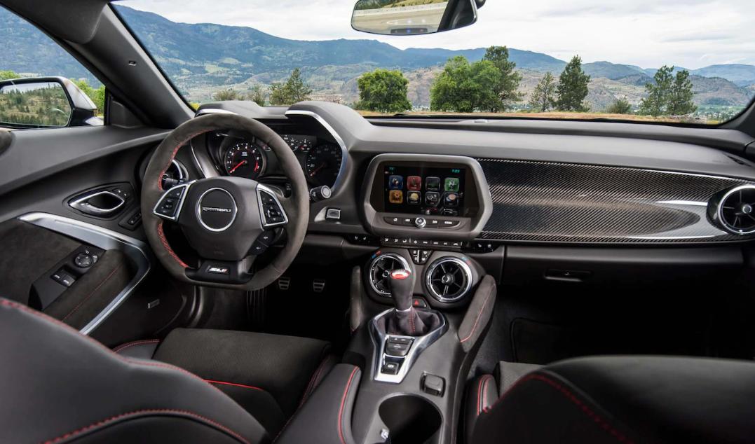 2021 Chevrolet Camaro ZL1 Interior