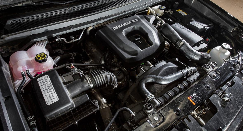 2021 Chevrolet Colorado Z71 Engine