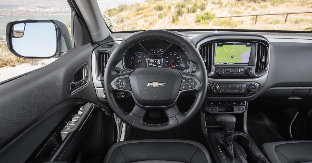 2021 Chevrolet Colorado Z71 Interior