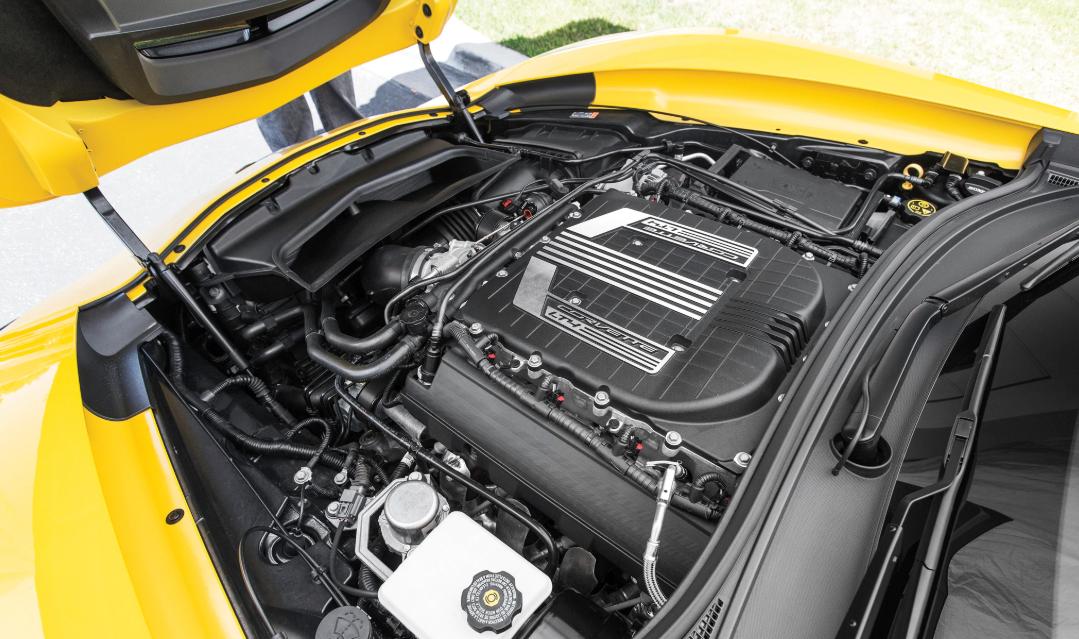 2021 Chevrolet Corvette Z06 Engine