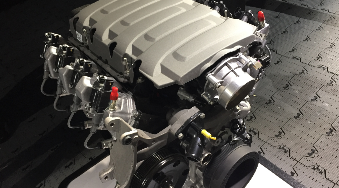 2021 Chevrolet Silverado SS Engine