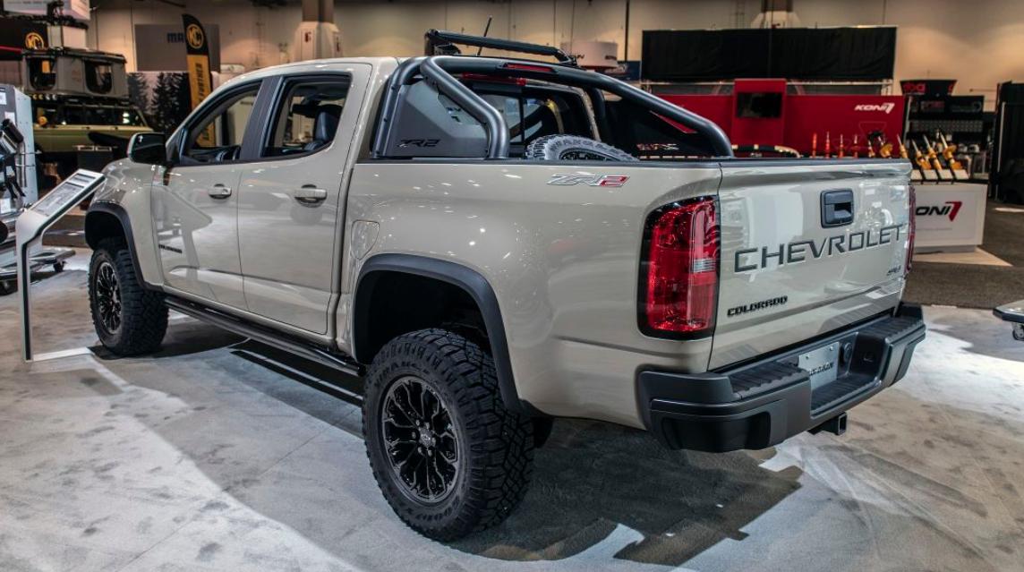 2021 Chevrolet ZR2 Engine
