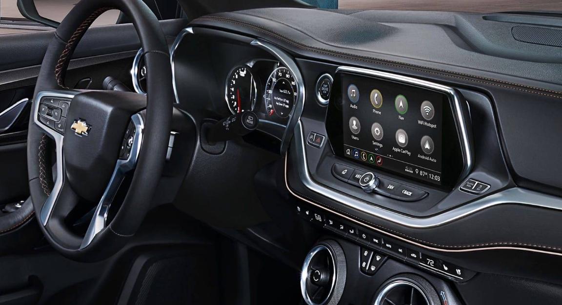 2021 Chevy K5 Blazer Interior