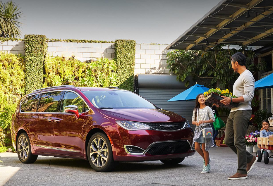 2021 Chrysler Pacifica Colors Exterior