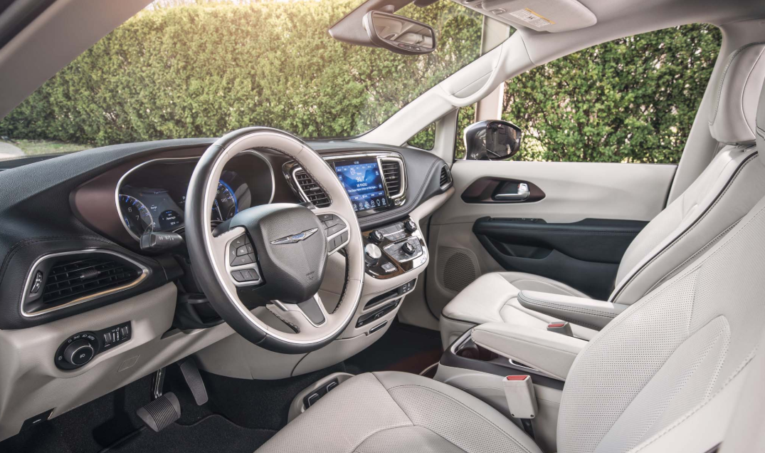 2021 Chrysler Pacifica Cost Interior