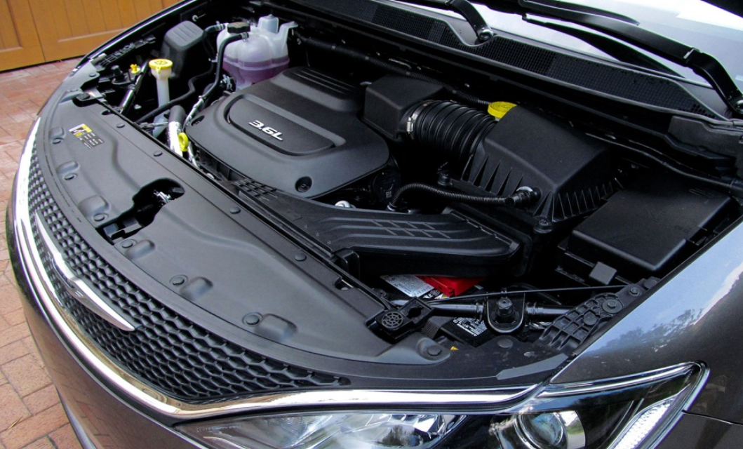 2021 Chrysler Pacifica Engine