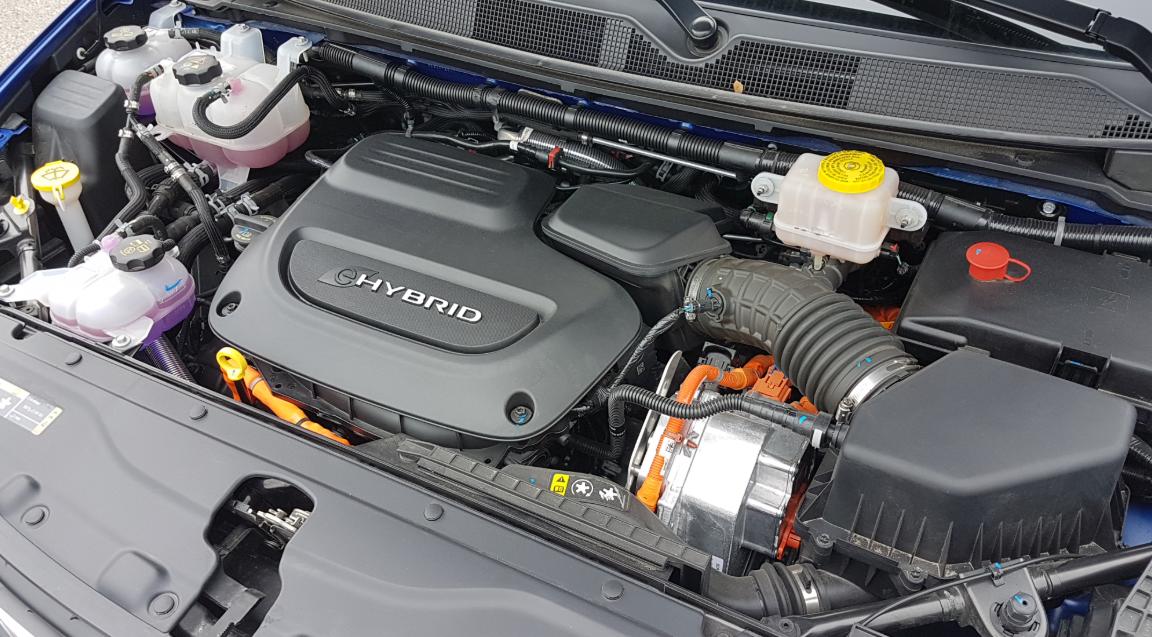 2021 Chrysler Pacifica Hybrid Engine