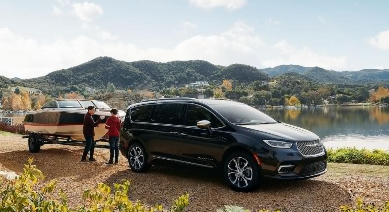2021 Chrysler Pacifica Pinnacle Exterior