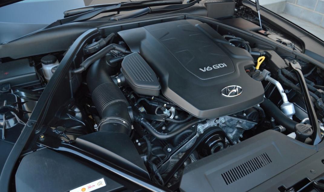 2021 Hyundai Genesis Engine