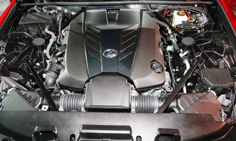 2021 Lexus LC 500 Engine