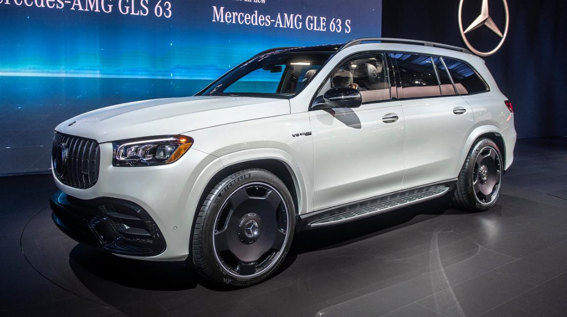 2021 Mercedes AMG GLS 63 Exterior