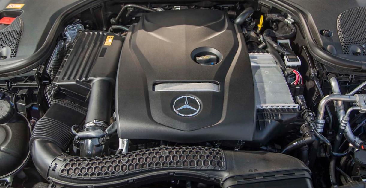 2021 Mercedes E Class Coupe Engine