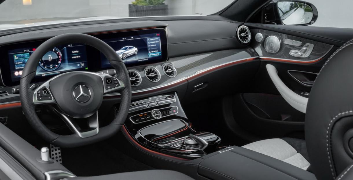 2021 Mercedes E Class Coupe Interior