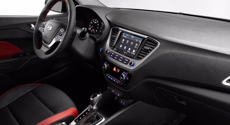 Hyundai Solaris 2021 Interior