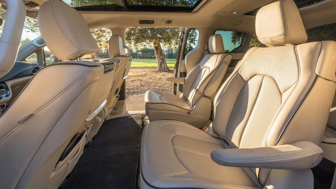 2020 Chrysler Pacifica Price Interior