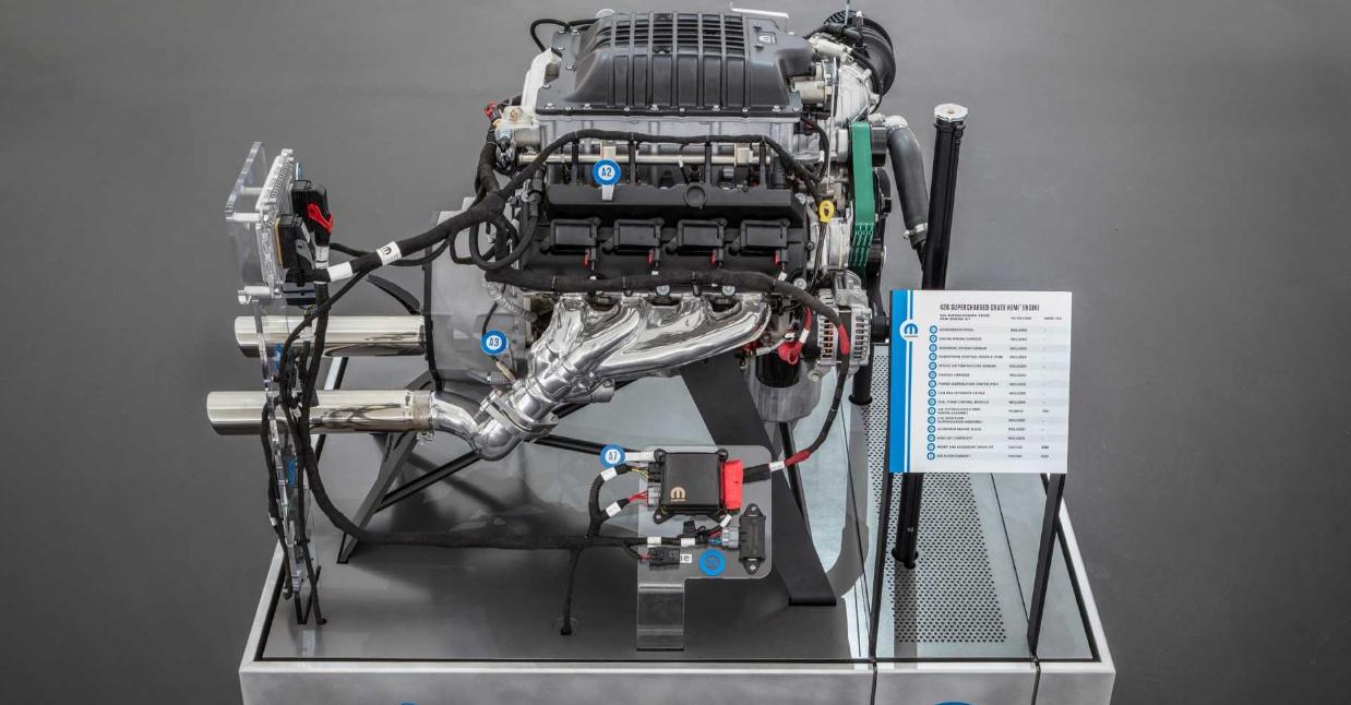 2021 Chrysler Portal Engine