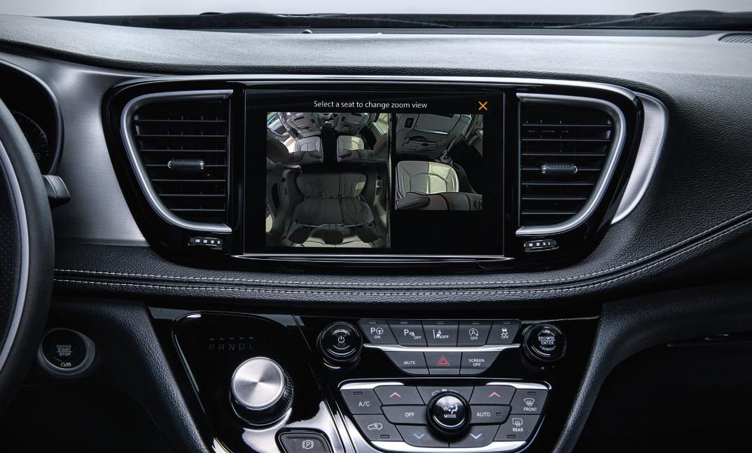 2021 Chrysler Van Interior