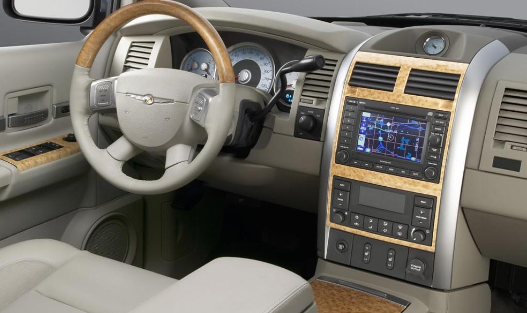 2022 Chrysler SUV Interior