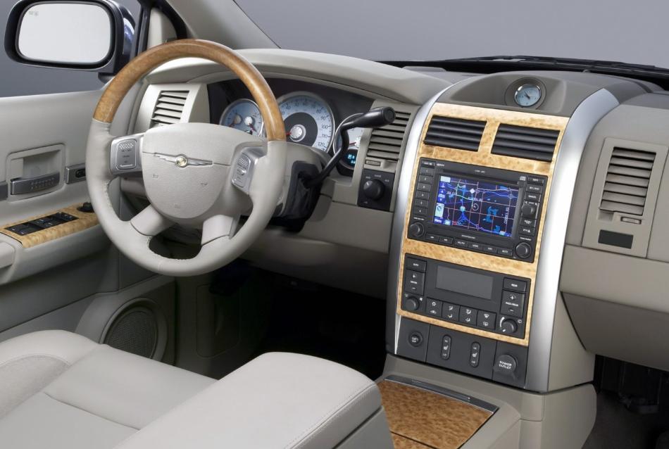 Chrysler Aspen 2021 Interior