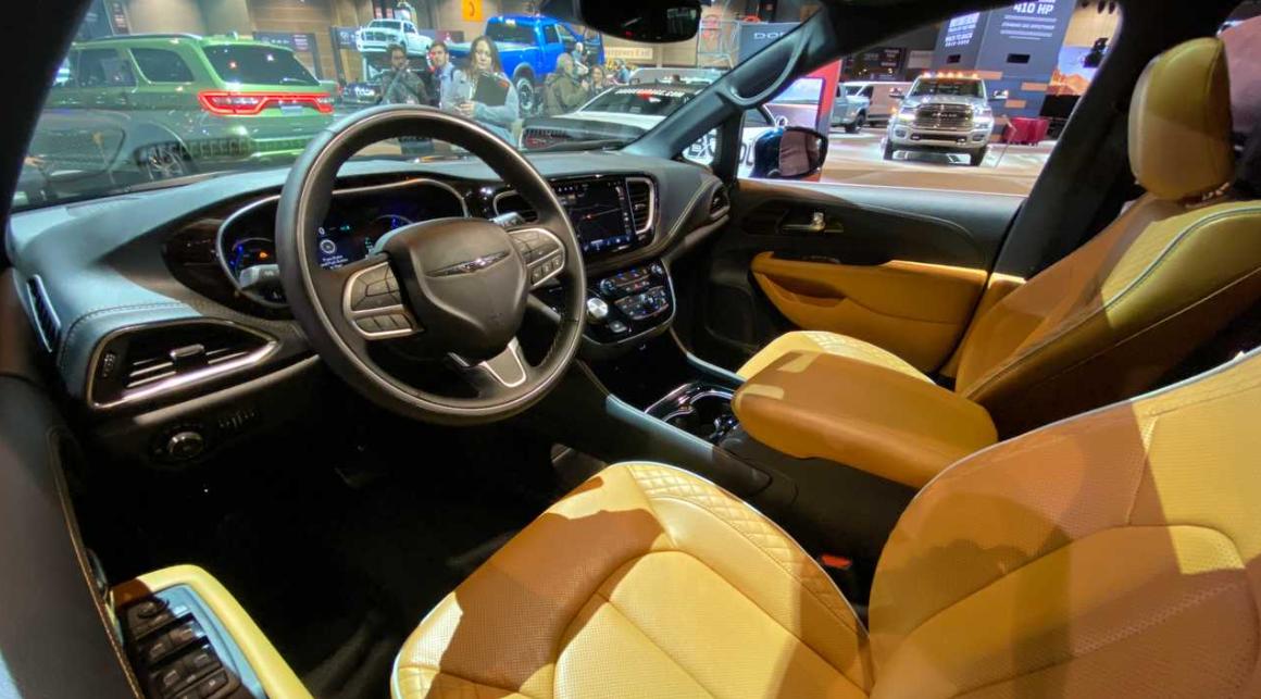 Chrysler Pacifica 2021 Interior