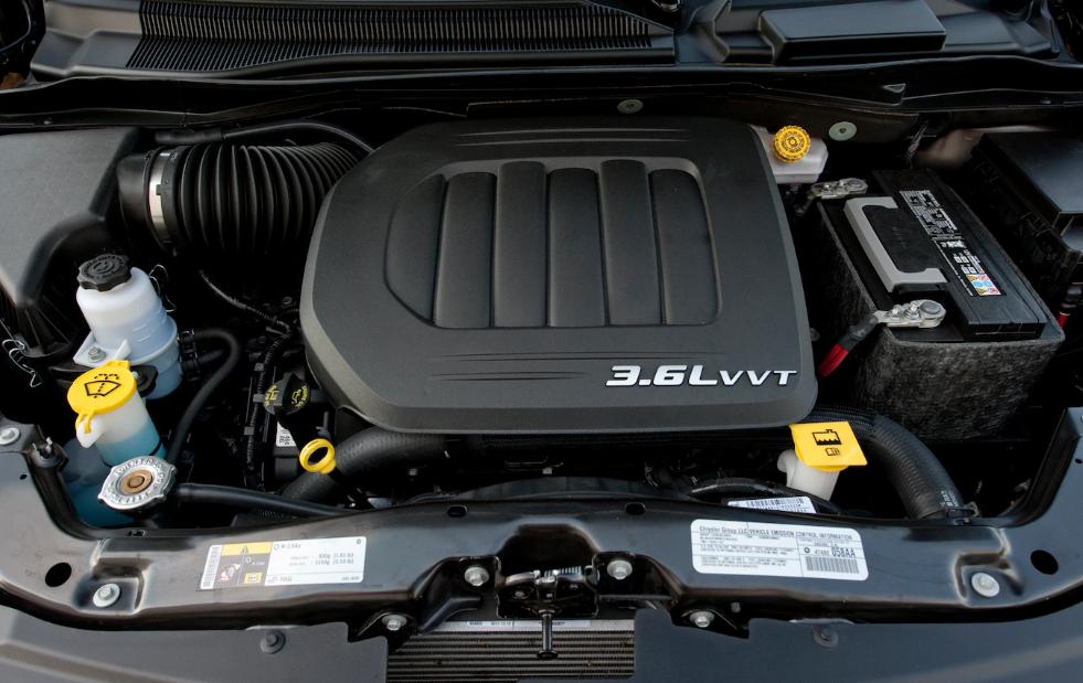 2020 Chrysler Voyager Engine
