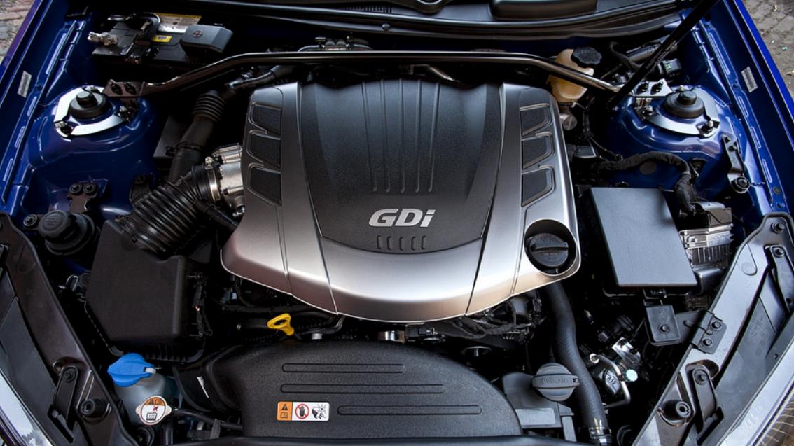 2022 Hyundai Genesis Engine