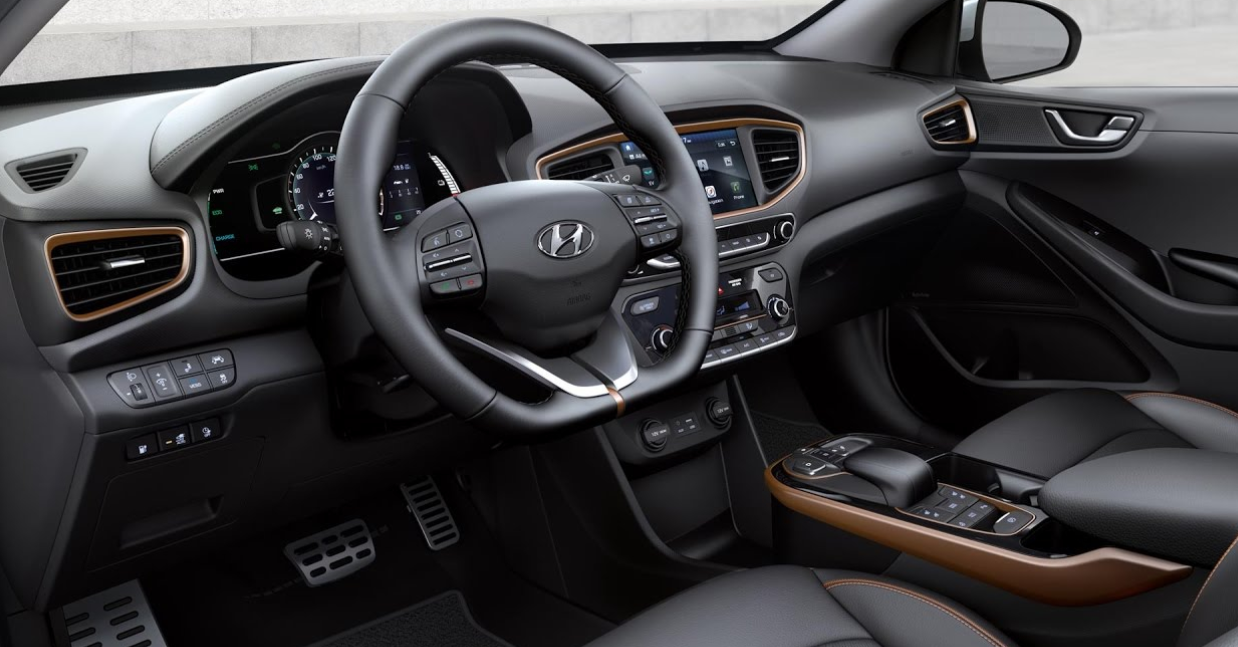 2022 Hyundai Ioniq Interior