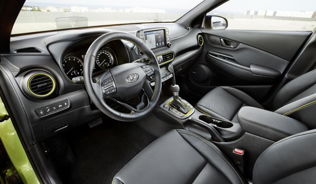 2022 Hyundai Kona Interior