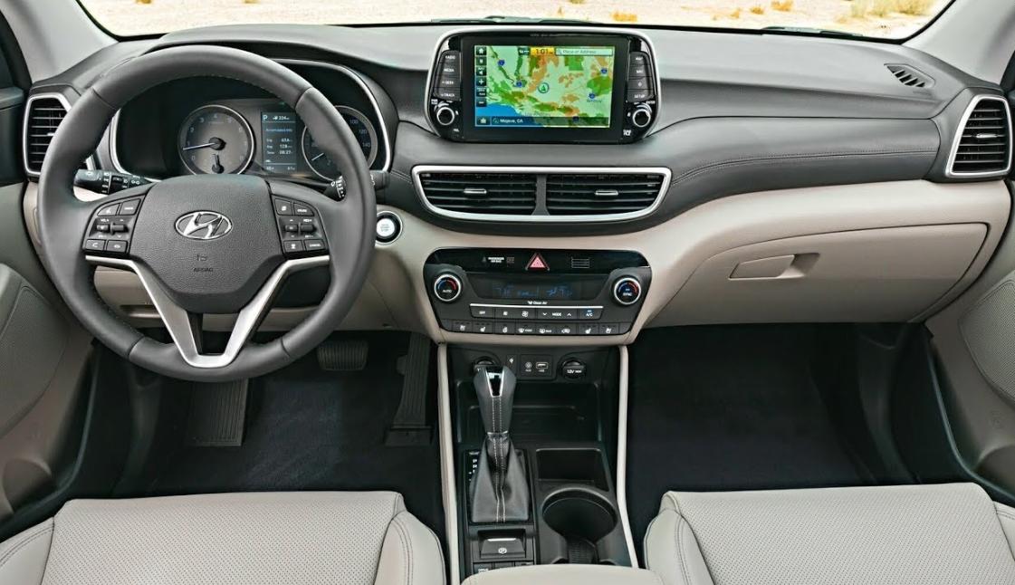 2022 Hyundai Tucson Interior