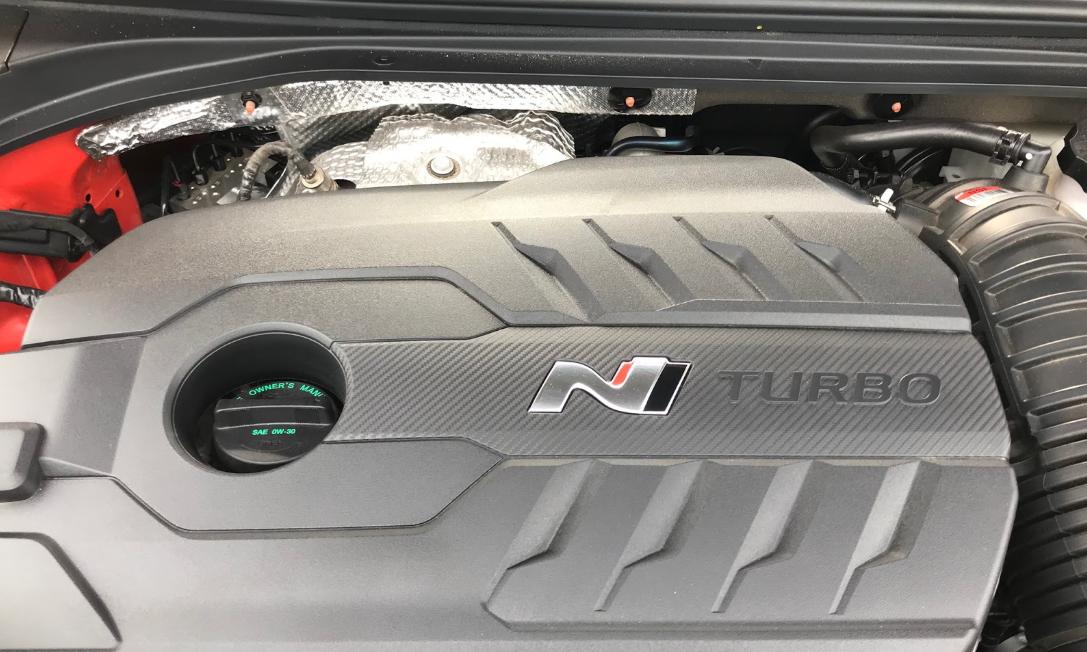 2022 Hyundai Veloster N Engine