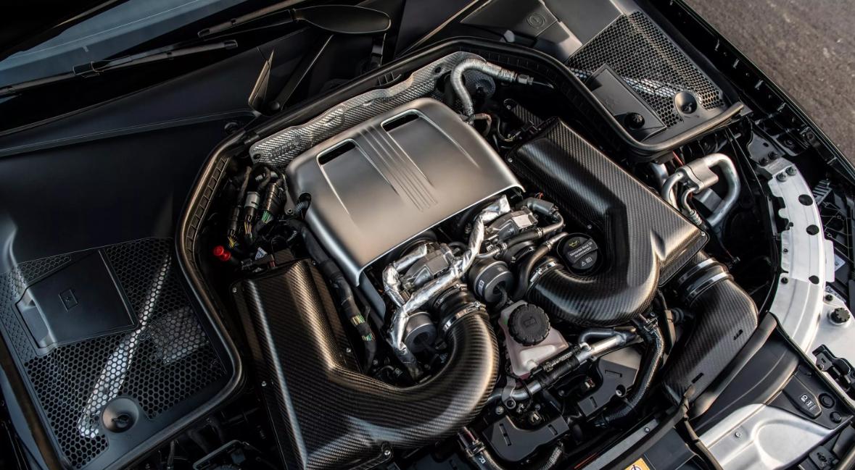 2022 Mercedes AMG C63 Engine