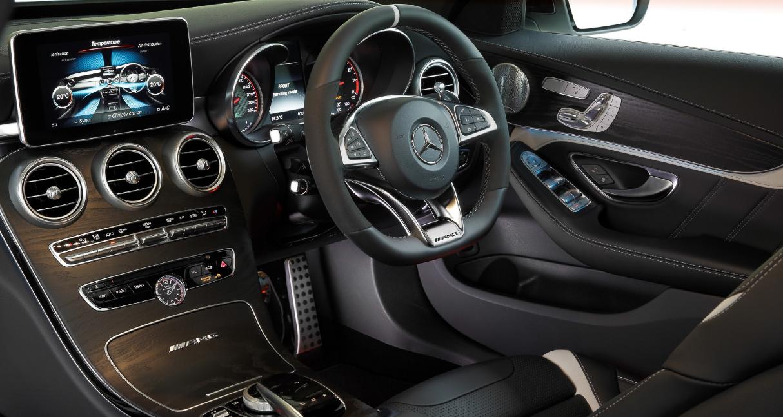 2022 Mercedes AMG C63 Interior