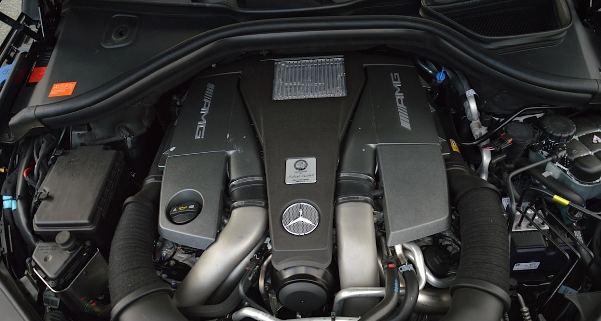 2022 Mercedes AMG Engine