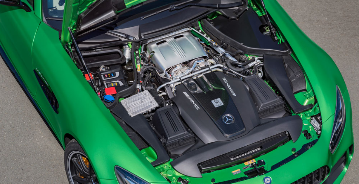 2022 Mercedes AMG GT Engine